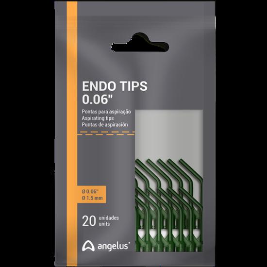 Ponta Endo Tips 0,06 - 20 unidades
