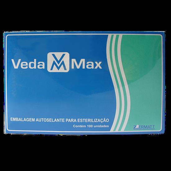 Envelope p/ Esterilização Autosselante - 150 x 300 mm c/ 100 Unidades