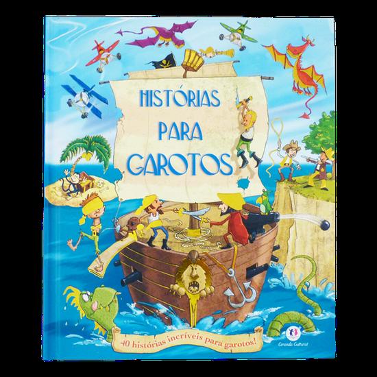 Livro Infantil Histórias p/ Garotos