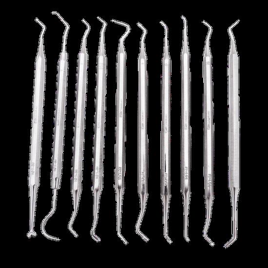 Kit Odontopediatria Oitavado - 10 Peças