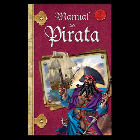 Livro Infantil Manual do Pirata