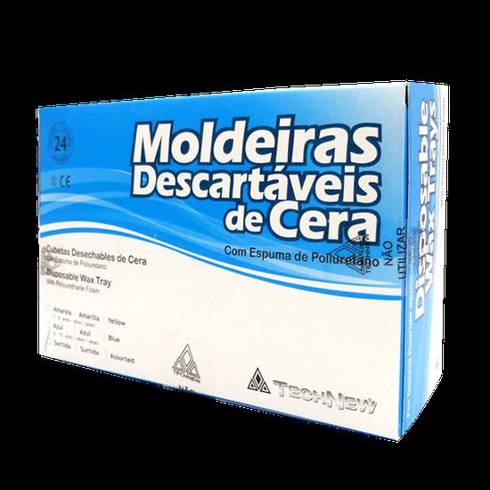 Moldeira Descartável de Cera Sortida c/ 24