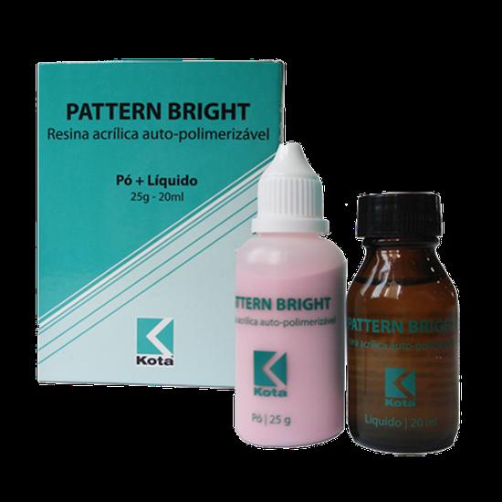 Resina Pattern Bright (Pó + Líquido)