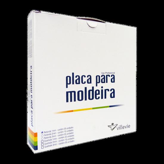 Placa p/ Moldeira EVA 1mm - Redonda
