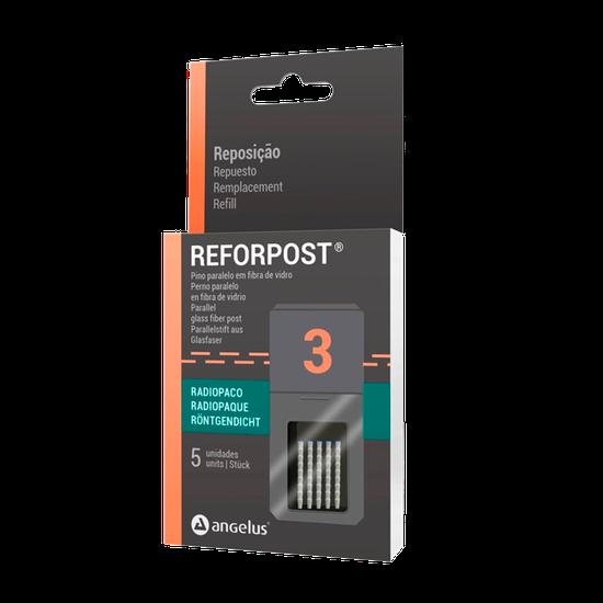 Pino de Fibra de Vidro Reforpost (Reposição) Nº 3