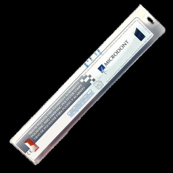 Tira de Lixa Poliéster Grano Fino e Médio - 2,5 mm c/ 100 Un.