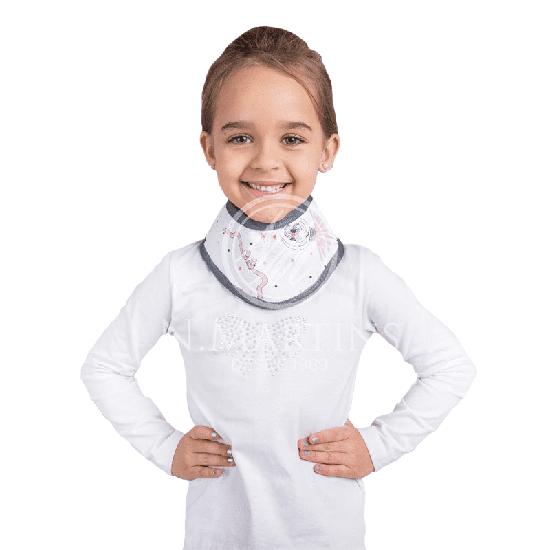 Protetor p/ Tireóide de Borracha Plumbífera Infantil