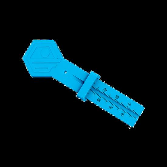 Régua Milimetrada Endofit - Azul