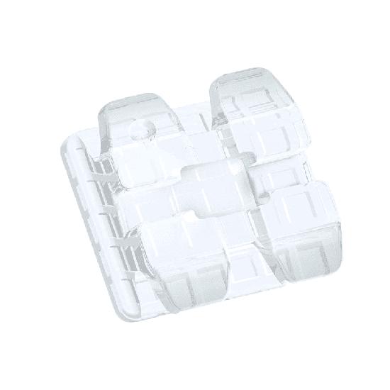 Reposição Bráquete Cerâmico Ice Clear Roth 0,022' - L5r - Dente 45 c/ Gancho