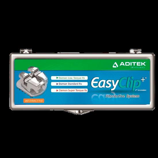 Bráquete Met. Autolig. Easyclip+ Interativo MBT 0,022'' - Reposição