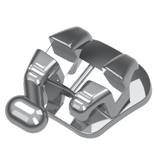Bráquete Metálico One-Piece Roth 0,022'' - Reposição