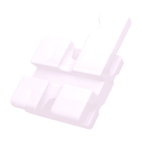Bráquete Cerâmico Translux  Roth 0,018'' - Reposição