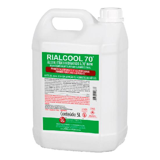 Álcool Rialcool 70° 5L