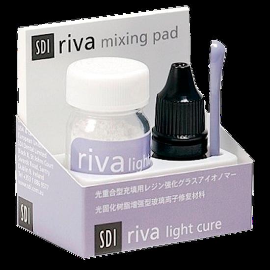 Kit Ionômero de Vidro Riva Light Cure A3