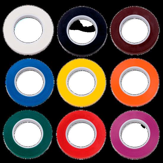 Rolo de Fita Colorida 6,35mm