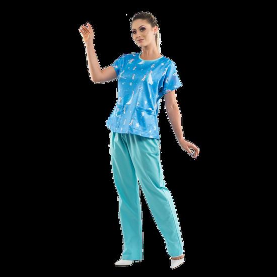 Pijama Cirúrgico Feminino Disney - Frozen