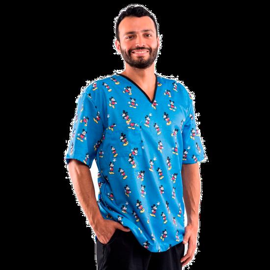 Pijama Cirúrgico Masculino Disney - Mickey Mouse