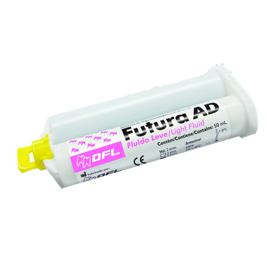 Silicone de Adição Futura AD Fluído Leve - Refil