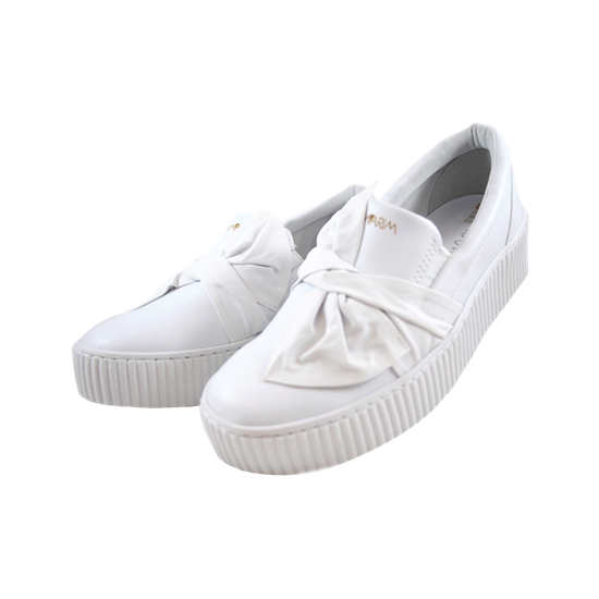 Slip On Plataforma - Branco