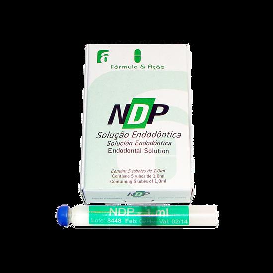Solução Endodôntica NDP - 05 Tubetes
