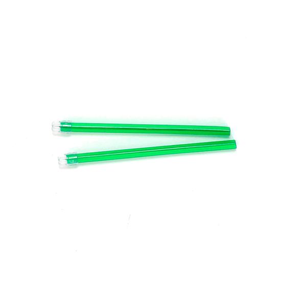 Sugador de Saliva Descartável Monoart - Verde