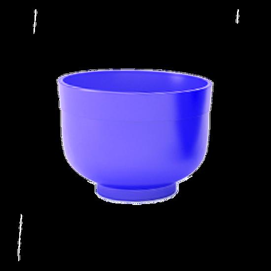 Cuba de Borracha Pequena - Azul