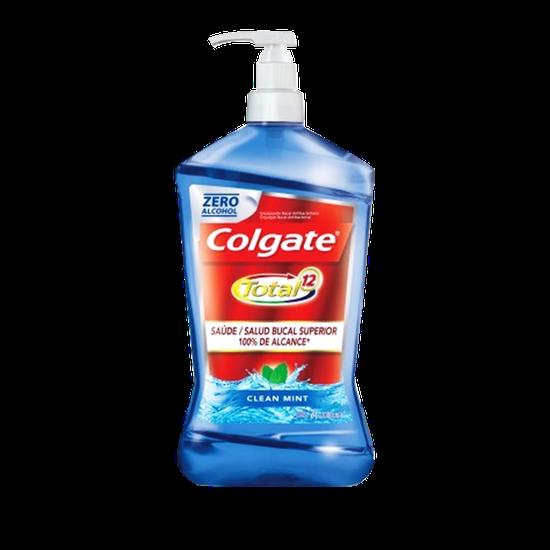 Enxaguante Bucal Colgate Total 12 Clean Mint 2L