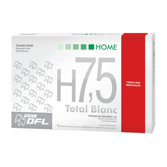 Clareador Total Blanc Home H7,5%