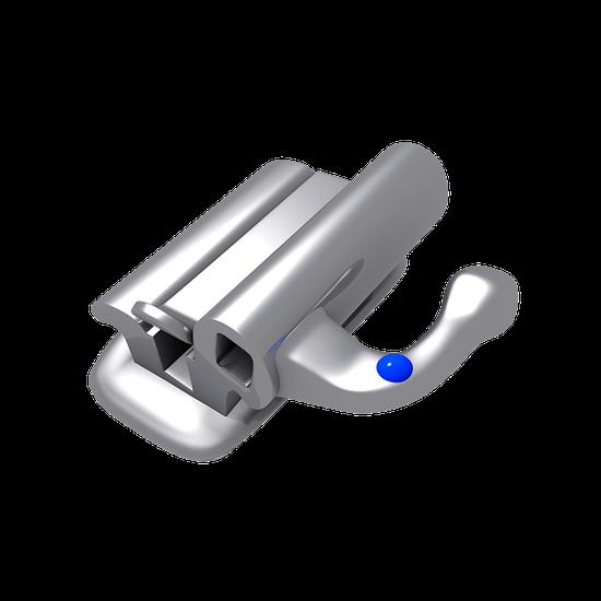 Tubo p/ Soldagem Roth 0,022'' - Duplo Conversível Retangular 1º Molar Inferior Direito