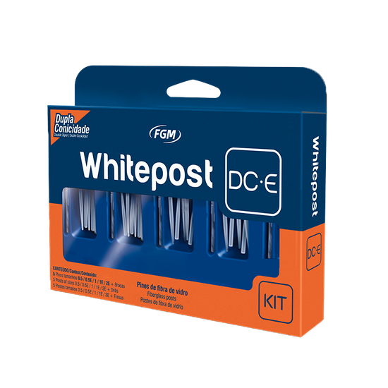 Kit Pino de Fibra de Vidro White Post DC-E - 25 un.